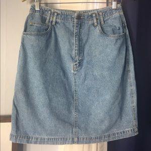 90s Lizwear Jean Skirt